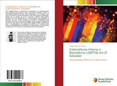 Capa do livro de Colonialismo Interno e Resistência LGBTTQI em El Salvador