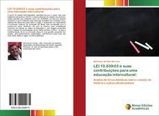 Capa do livro de LEI 10.639\03 e suas contribuições para uma educação intercultural: