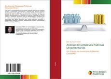 Bookcover of Análise de Despesas Públicas Orçamentárias