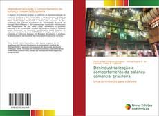 Capa do livro de Desindustrialização e comportamento da balança comercial brasileira