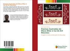 Portada del libro de Poemas ilustrados de Olavo Bilac à luz do Art Nouveau