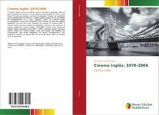 Buchcover von Cinema inglês: 1970-2006