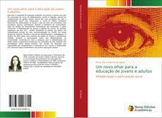 Capa do livro de Um novo olhar para a educação de jovens e adultos
