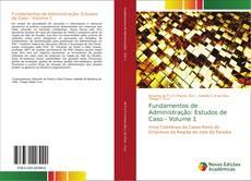 Fundamentos de Administração: Estudos de Caso - Volume 1 kitap kapağı