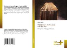 Bookcover of Dictionnaire mélangiste Lukusa 2017