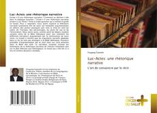 Bookcover of Luc-Actes: une rhétorique narrative