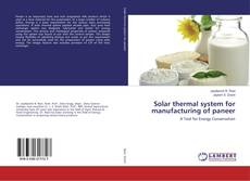 Portada del libro de Solar thermal system for manufacturing of paneer