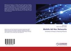 Bookcover of Mobile Ad Hoc Networks