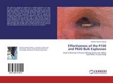 Capa do livro de Effectiveness of the P100 and P600 Bulk Explosives