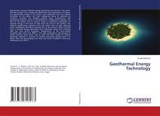 Bookcover of Geothermal Energy Technology
