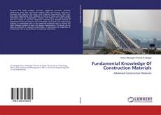 Fundamental Knowledge Of Construction Materials kitap kapağı