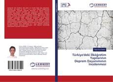 Türkiye'deki İlköğretim Yapılarının Deprem Dayanımının İncelenmesi kitap kapağı