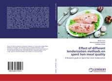 Обложка Effect of different tenderization methods on spent hen meat quality