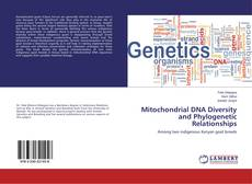 Copertina di Mitochondrial DNA Diversity and Phylogenetic Relationships