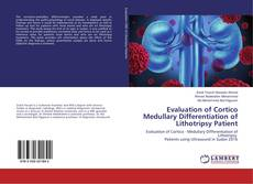 Bookcover of Evaluation of Cortico Medullary Differentiation of Lithotripsy Patient