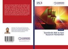 Gemilerde Atık Isı Geri Kazanım Yöntemleri kitap kapağı