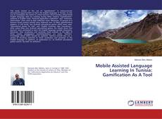 Capa do livro de Mobile Assisted Language Learning In Tunisia: Gamification As A Tool