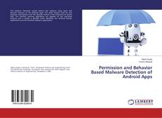 Buchcover von Permission and Behavior Based Malware Detection of Android Apps