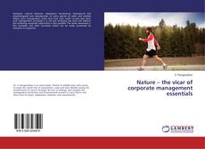 Copertina di Nature – the vicar of corporate management essentials
