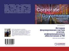 Portada del libro de История формирования систем учетно-информационного обеспечения в РФ
