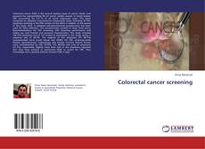 Bookcover of Colorectal cancer screening