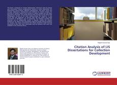 Bookcover of Citation Analysis of LIS Dissertations for Collection Development
