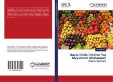 Buchcover von Bursa İlinde Üretilen Yaş Meyvelerin Uluslararası Pazarlaması