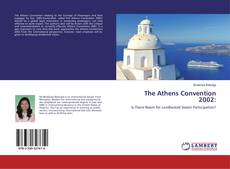 Capa do livro de The Athens Convention 2002: