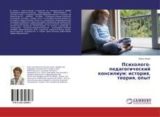 Buchcover von Психолого-педагогический консилиум: история, теория, опыт