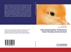 Buchcover von Characterization of Bacteria from Poultry Environment