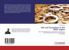 Buchcover von FDI and Corruption in the SADC region