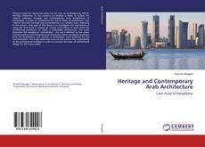 Buchcover von Heritage and Contemporary Arab Architecture