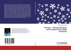 Energy – Exergy Analysis and Carbon (IV) Oxide Emission kitap kapağı