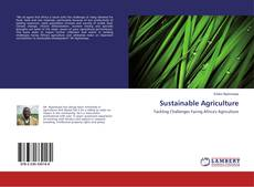 Bookcover of Sustainable Agriculture