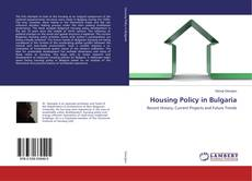 Couverture de Housing Policy in Bulgaria