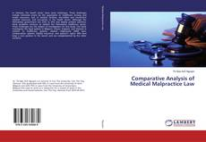 Copertina di Comparative Analysis of Medical Malpractice Law