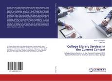 College Library Services in the Current Context的封面