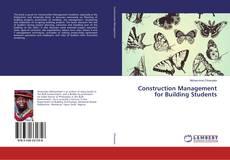 Buchcover von Construction Management for Building Students