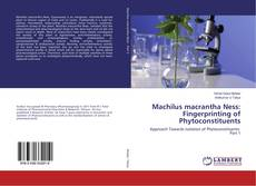 Machilus macrantha Ness: Fingerprinting of Phytoconstituents的封面