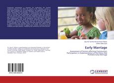 Capa do livro de Early Marriage