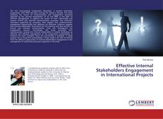 Portada del libro de Effective Internal Stakeholders Engagement in International Projects