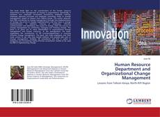 Capa do livro de Human Resource Department and Organizational Change Management