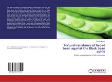 Bookcover of Natural resistance of broad bean against the Black bean aphid