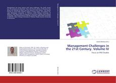 Capa do livro de Management Challenges in the 21st Century. Volume IV
