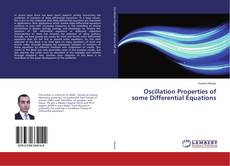 Buchcover von Oscillation Properties of some Differential Equations