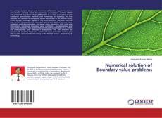 Capa do livro de Numerical solution of Boundary value problems