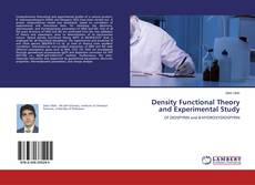 Bookcover of Density Functional Theory and Experimental Study