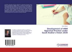 Capa do livro de Development of HRM Appraisal Practice under Saudi Arabia's Vision 2030