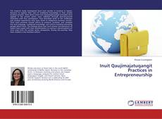 Capa do livro de Inuit Qaujimajatuqangit Practices in Entrepreneurship