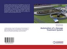 Bookcover of Automation of a Sewage Treatment System